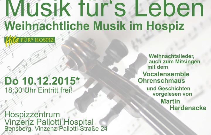 Musik fürs Leben im Hospiz