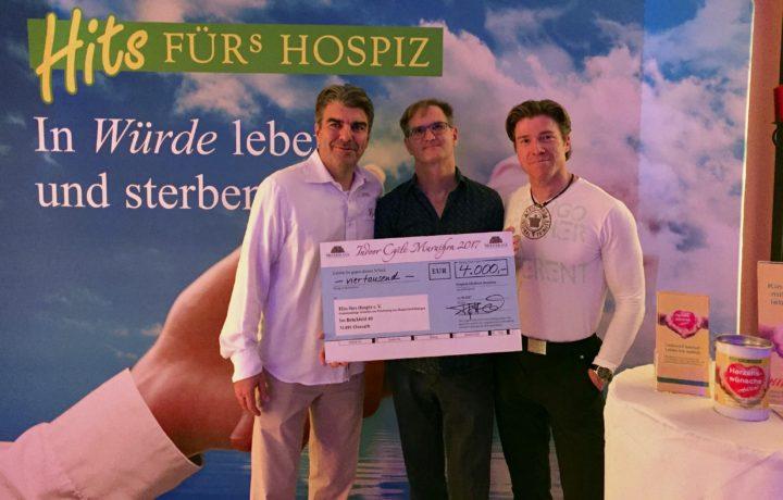 4000 Euro Spende vom Mediterana Indoor Cycling Marathon 2017