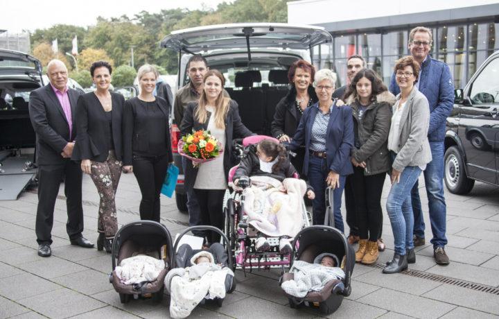 Behindertengerechter Kleinbus für 7-köpfige Familie