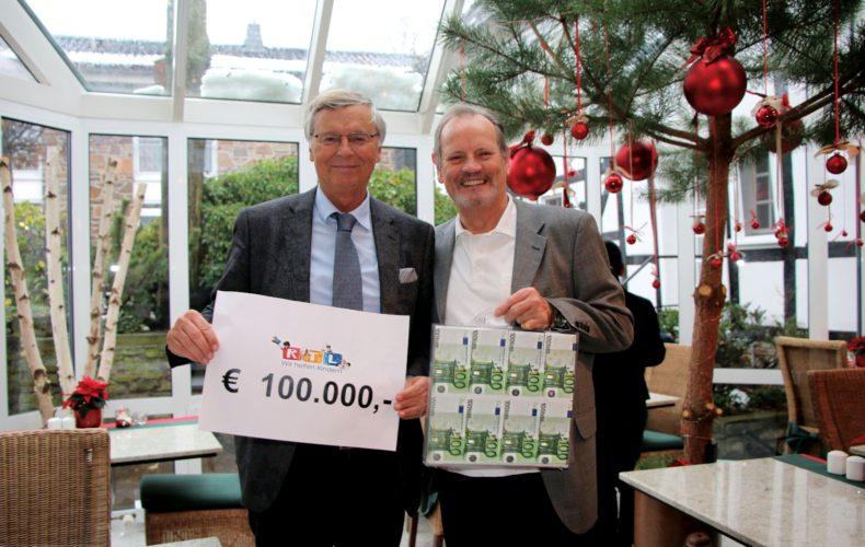100.000 € für kranke Kinder und Jugendliche
