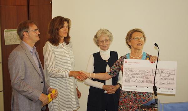InnerWheel spendet über 16.000 Euro für Herzenswünsche