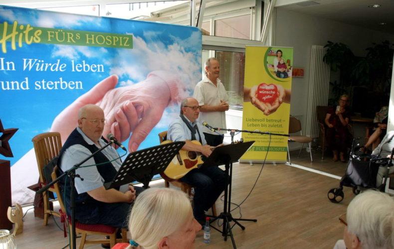 """Kölsche Leedcher und Verzällcher bei """"Musik für`s Leben"""" am 16.9.2018 im Hospiz des Vinzenz Pallotti Hospital"""